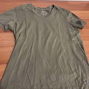 Armani Exchange New Men's T-shirt Tan